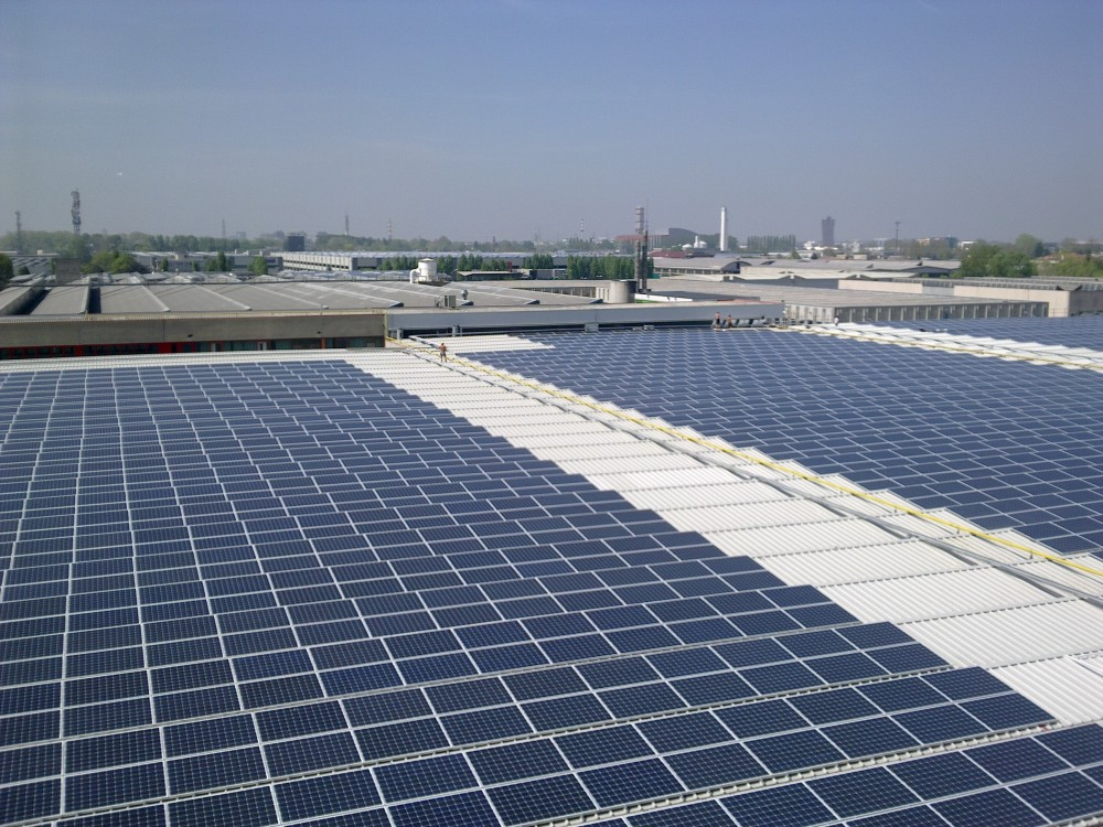 Sirio Solar Plant, Italy