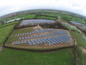 Upper Clayhill Solar Farm, UK