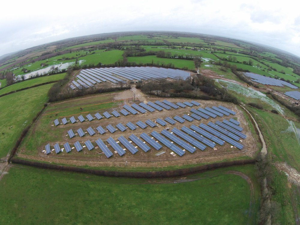 Upper Clayhill Solar Farm, UK
